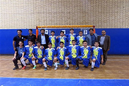 فینال مسابقات فوتسال دانش آموزان متوسطه اول خوزستان | Mohamad Salmani Abbiat