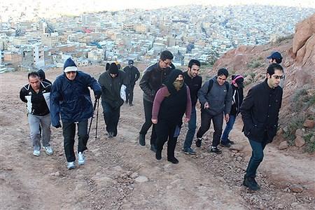 کوهپیمایی در تبریز | Homa Samadi