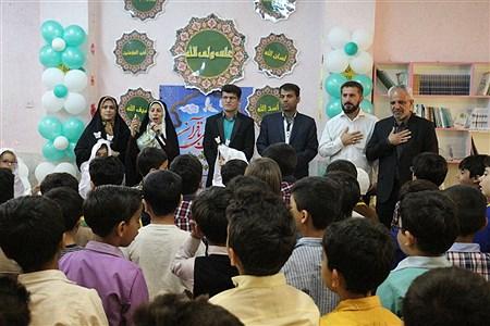 محفل انس با قرآن وجشنواره سازه های خلاق ویژه نو آموزان ومربیان پیش دبستانی در امیدیه | Fatemeh Sharji