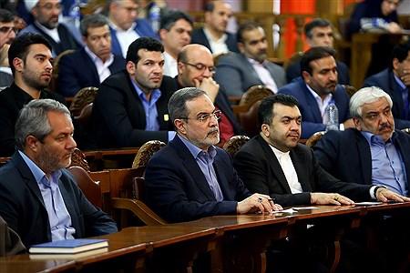 دیدار جمعی از فرهنگیان با رئیس مجلس شورای اسلامی | Bahman Sadeghi