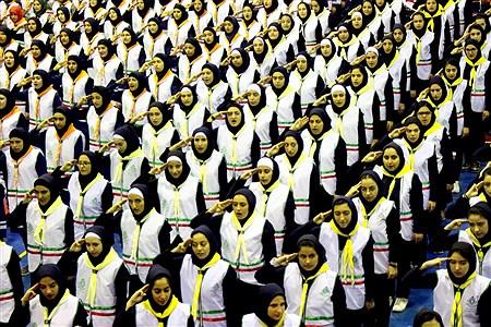 آیین جشن سپاس معلم و گرامیداشت سالروز دانش آموزی  ارومیه   kiyanosh kharbozekar