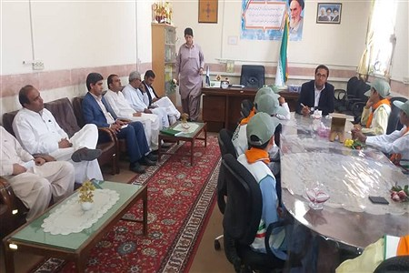 اجرای مراسم سپاس معلم در شهرستان خاش   absalan