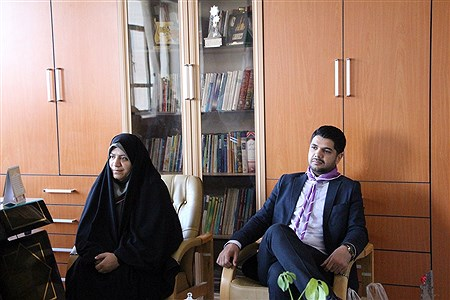 دیدار رئیس سازمان دانش آموزی استان به همراه مربیان و پیشتازان سازمان دانش آموزی  بامدیرکل آموزش و پرورش ومعاونین ایشان   به مناسبت هفته معلم  | Arash Sekhavati nezhad