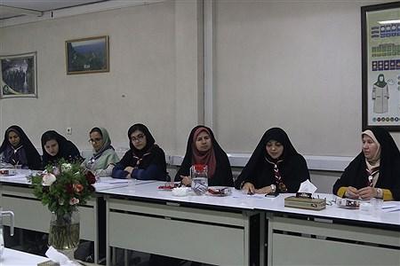 نشست اعضای مجامع دانش آموزان و مربیان پیشتاز شهر تهران  | zahra alihashemi
