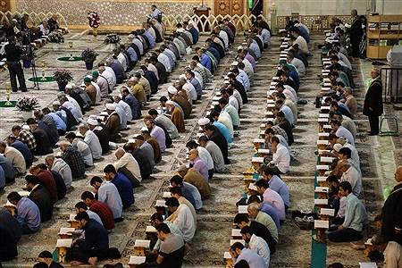 مراسم ترتیل خوانی عمومی قرآن  در حرم حضرت فاطمه معصومه (س) | sajad hayatpour