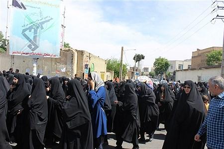 راهپیمایی مردم اسلامشهردردفاع از بیانیه شورایعالی امنیت ملی | Sasan Haghshenas
