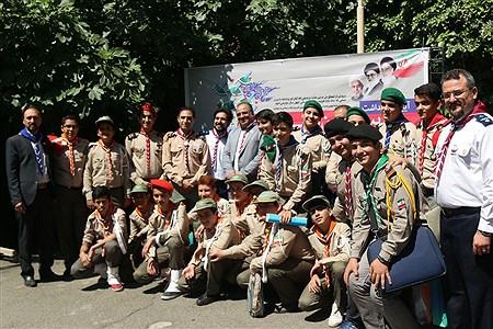 حاشیه های تصویری برگزاری بیستمین سالروز تاسیس سازمان دانش آموزی    zahra alihashemi