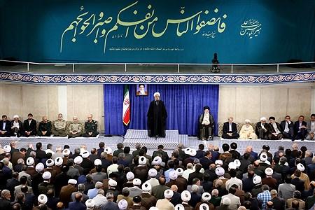 دیدار مسئولان نظام با مقام معظم رهبری | khamenei.ir