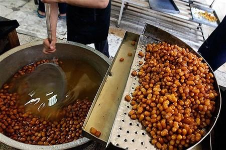 کارگاه پخت زولبیا و بامیه | Bahman Sadeghi
