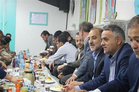 بجنورد (پانا) -مراسم افطاری در خراسان شمالی  به مناسبت سالروز تاسیس سازمان دانش آموزی  | Nima Moradi