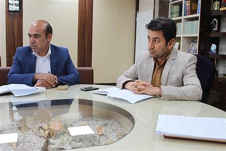 جلسه هماهنگی تغییر سمت نیروهای آموزشی و پرورشی  استان بوشهر | Abdol hossein sadeghi