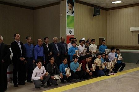آیین تجلیل از مقام آوران مسابقات فرهنگی هنری استانی در شهرستان امیدیه  | Shaden Aghajari