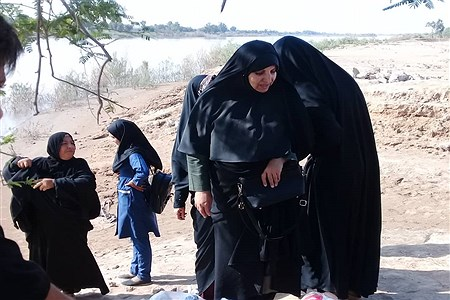 ارسال و توزیع کمکهای کارشناس مسیول اموربانوان آموزش و پرورش خوزستان  | Sara Rezaiee