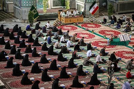 مراسم ترتیل خوانی قرآن کریم در حرم احمد بن هلال  | Sajad Hayatpour