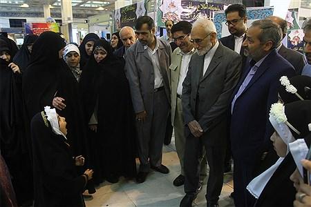بازدیدمعاون فرهنگی و پرورشی وزیر آموزش وپرورش از بیستوهفتمین نمایشگاه بینالمللی قرآن کریم  | Hossein Paryas