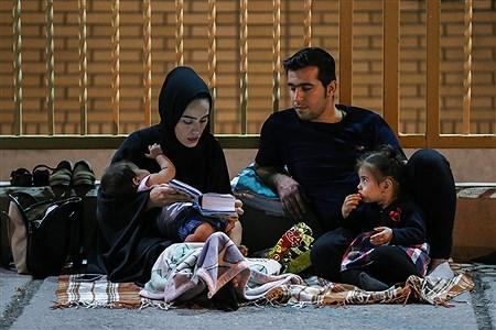 مراسم احیاء ویژه شب 19 ماه رمضان  در حرم حضرت معصومه (س) | Sajad Hayatpour
