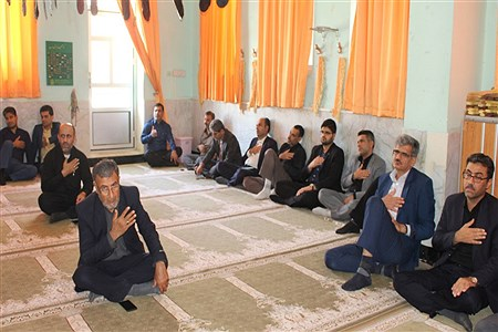 سوگواری شهادت امام علی ( ع ) در آموزش و پرورش استان بوشهر  |  Mohammad Reza Naderi Panah