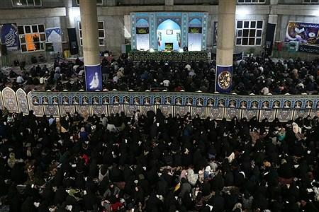 مراسم پرفیض شب بیست و یکم ماه مبارک رمضان در شهرقدس   Saba Bahrami