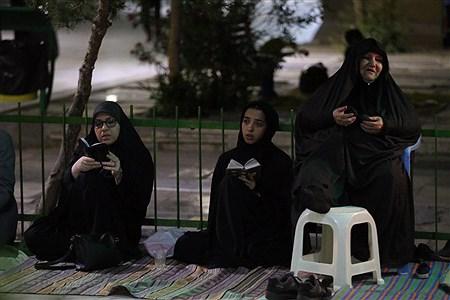 مراسم شب قدر در جوار گلزار شهدای علی ابن جعفر علیه السلام قم | Sajad Hayatpour
