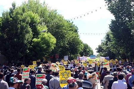 راهپیمایی روزجهانی قدس ارومیه | Kiyanosh kharbozekar