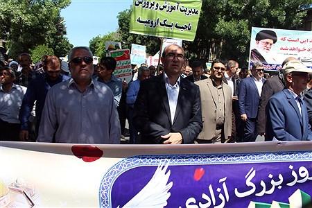 راهپیمایی روزجهانی قدس ارومیه   Kiyanosh kharbozekar