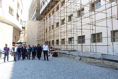 بازدید استاندار آذربایجان غربی از پروژه بیمارستان فوق تخصصی زنان ارومیه  | kiyanosh kharbozekar