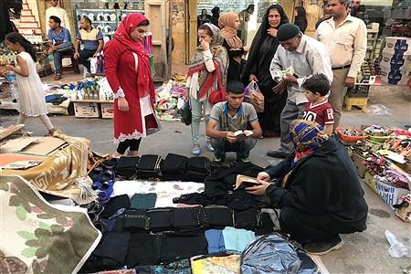 بازار داغ خرید عید فطر در اهواز | Fatemeh Ghanbari