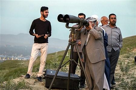استهلال ماه شوال در ارومیه / فردا چهارشنبه عید فطر است | Amir Hosein Mollazade