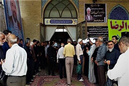 هفتمین روز درگذشت امام جمعه  شهرستان کازرون همراه با مراسم ارتحال امام خمینی (ره) | Koorosh Khezri Motlagh