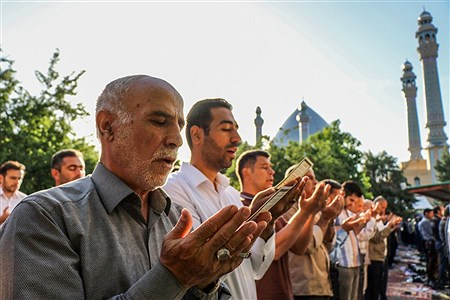 اقامه نماز عید سعید فطر در ارومیه   Amir Hosein Mollazade