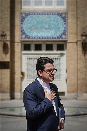 نشست خبری سخنگوی  وزارت امور خارجه | Ali Sharifzade