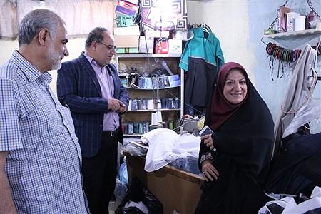 بازدید باستانی از روند تولید لباس فرم دانش آموزی   Zahra Alihashemi
