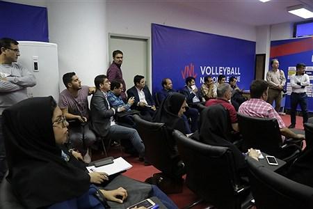 نشست خبری هفته سوم مسابقات لیگ ملتهای والیبال | Zahra Talei