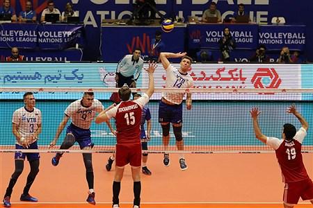 هفته سوم لیگ ملتهای والیبال  |  روسیه 3 - 1 لهستان | Amir Hosein Mollazade
