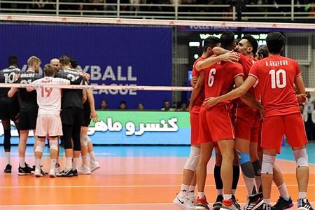 هفته سوم لیگ ملتهای والیبال | ایران 3 - 0 کانادا | Amir Hosein Mollazade