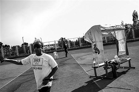 مسابقات دوومیدانی قهرمانی کشور نابینایان و کم بینایان | Ali Sharifzade