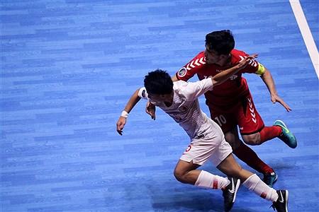 در دومین روز مسابقات فوتسال زیر 20 سال آسیا دو تیم افغانستان و هنگ کنگ به مصاف هم رفتند.    Ahmadreza Mashhouri