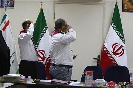 نشست مدیران سازمان دانش آموزی تهران    zahra alihashemi