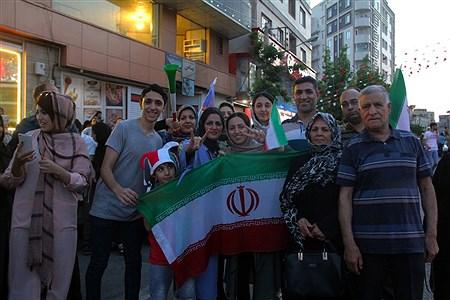 حواشی دیدار تیم های ملی والیبال ایران و روسیه  | zahra talei