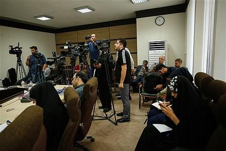 نشست خبری معاون اول قوه قضاییه   Ali Sharifzade