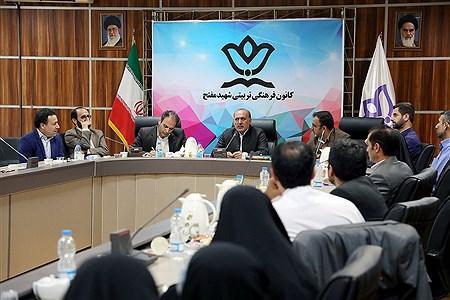 بازدید مدیرکل فرهنگی هنری  از دبیرخانه آثار سی و هفتمین جشنواره فرهنگی هنری  | Bahman Sadeghi