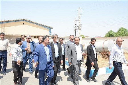 بازدید رئیس سازمان نوسازی ،توسعه و تجهیز مدارس کشور از استان بوشهر | Mohsen Roshan