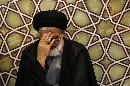 تشییع پیکر شهید گمنام در حرم حضرت معصومه (س)   sajad hayatpour