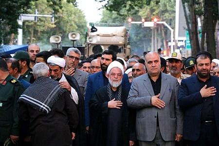 تشیع پیکر مطهر 10 شهید گمنام در خراسان شمالی | Mostafa Hatami