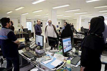 بازدید رئیس سازمان پژوهش و برنامه ریزی آموزشی آموزش و پرورش از خبرگزاری پانا | Bahman Sadeghi