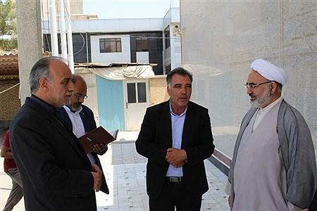 بازدیدمعاون حقوقی و امور مجلس وزارت آموزش و پرورش از پروژهاهی نیمه تمام آموزش و پرورش | Seyed mohamad ali Sajadi