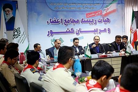 دومین روز ازاولین نشست هیات رئیسه مجامع اعضا و مربیان کشور   Bahman Sadeghi