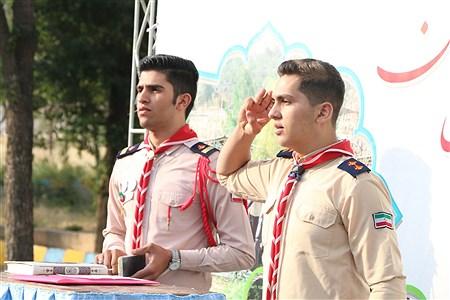 مراسم صبحگاه دومین روز از اردوی استانی پیشتازان فارس  | Ahmadreza Karimiyan