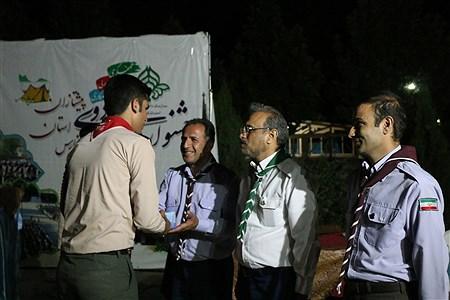 مراسم اختتامیه جشنواره اردوی پیشتازان پسر و خبرنگاران پانا استان فارس | Ahmadreza Karimiyan
