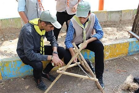 ایستگاههای مهارتهای آموزشی در دومین روز از اردوی استانی پیشتازان فارس | Ahmadreza Karimiyan